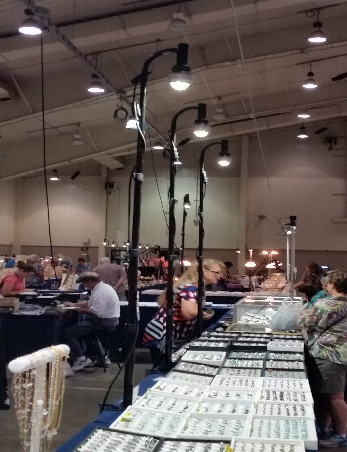 Craft Show Tent Lighting