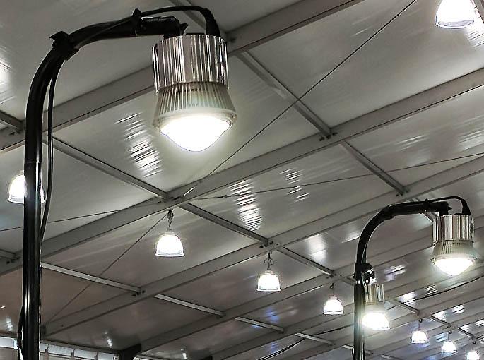 Trade Show Booth Lighting Portable Led Display Light